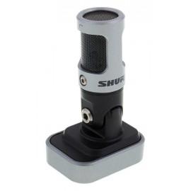 SHURE Motiv MV88 - дигитален IOS стерео микрофон за звукозапис, интервю, видео конференции